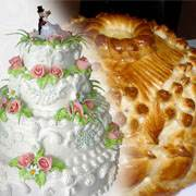 каравай и торт