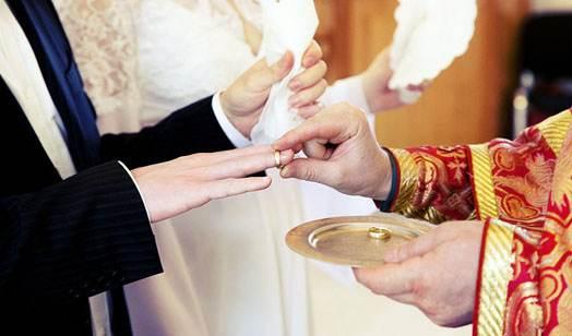 венчание с кольцами