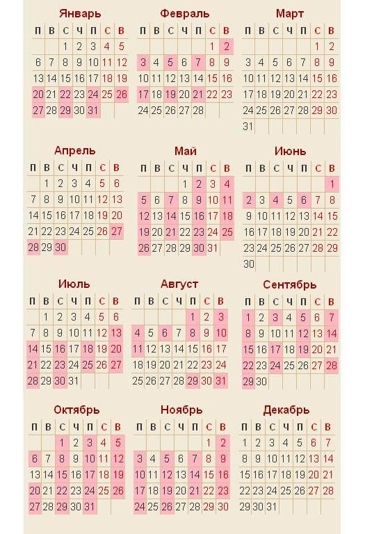 православный календарь венчаний на 2014 год