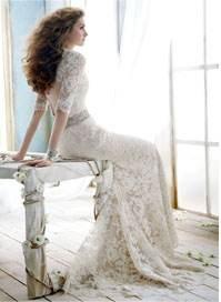 свадебное платье на невесте 2013