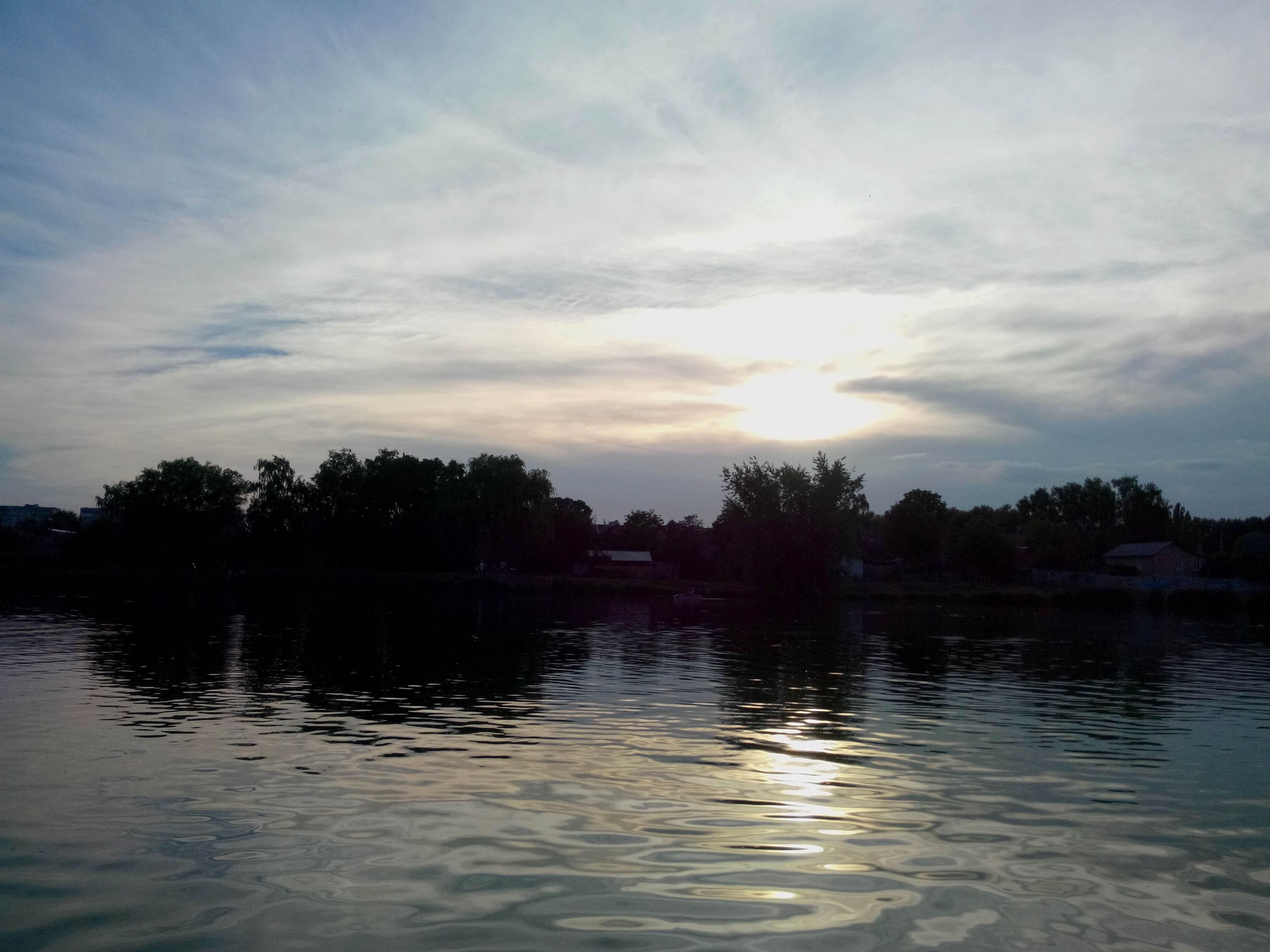 фото заката в Чернигове