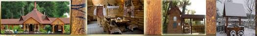 ресторан Колыба на берегу реки Стрижень