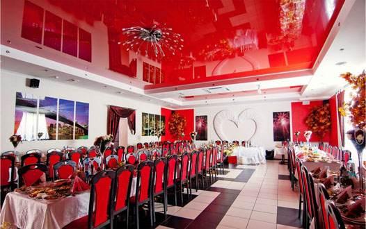 зал Московского ресторана в Козельце