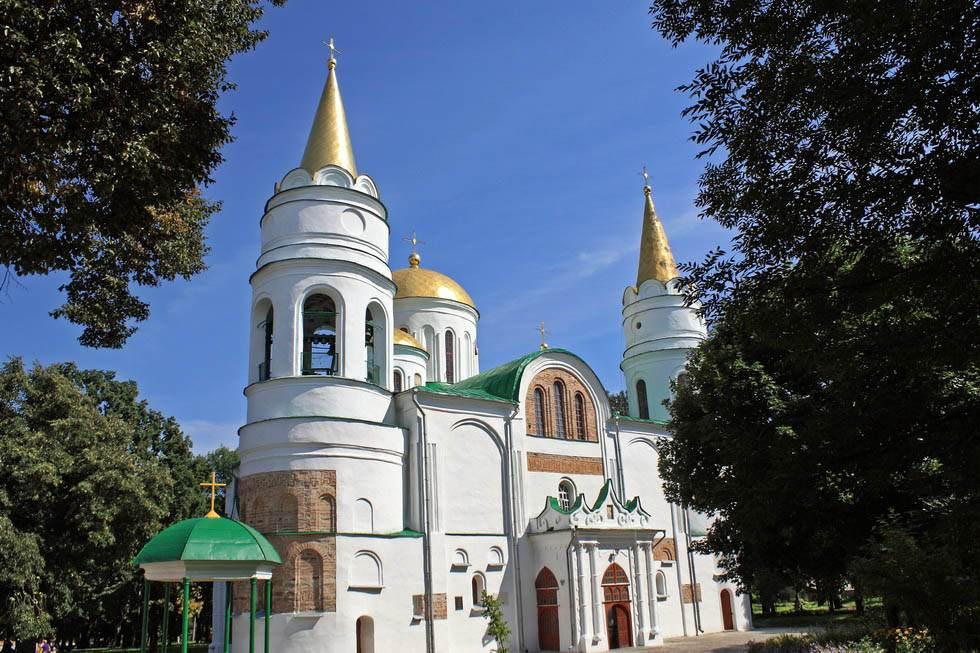 Чернигов - Спасо Преображенский собор