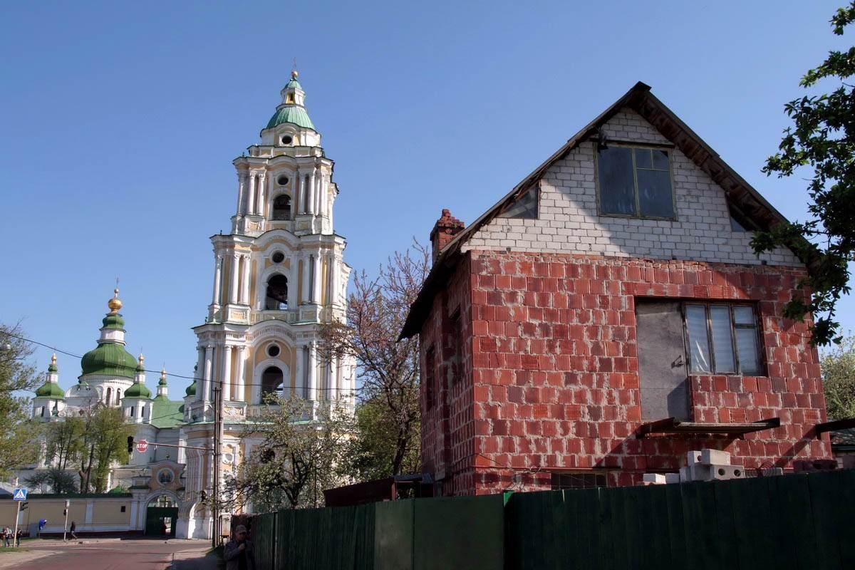 колокольня Троицкого собора в Чернигове