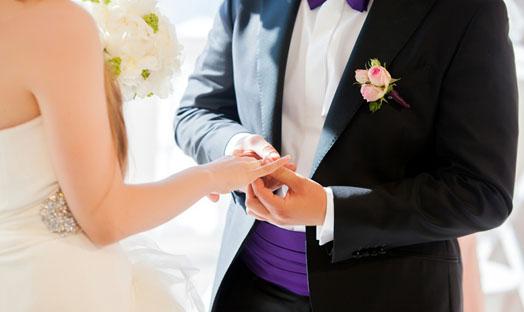 Колечко на свадьбе в обручение