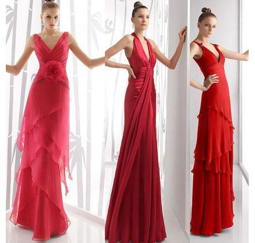 купить красное платье на новый год 2017