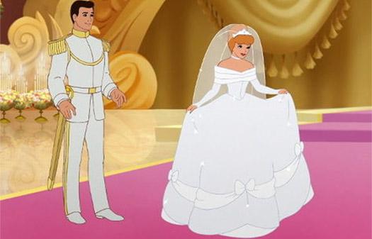 золушка на своей свадьбе