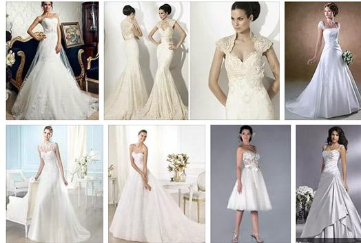 разные свадебные платья