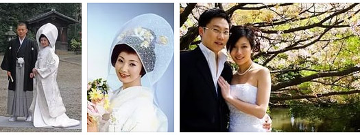 свадьба по японски