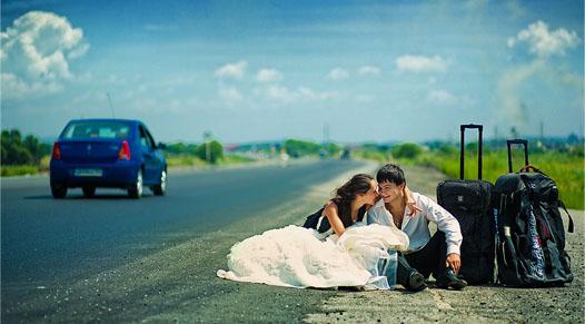 свадебное путешествие сразу после свадьбы