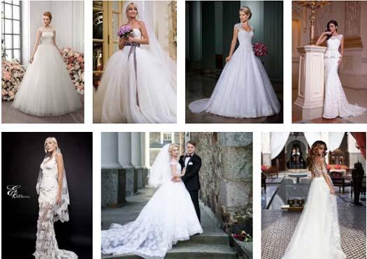 Свадебные платья невест