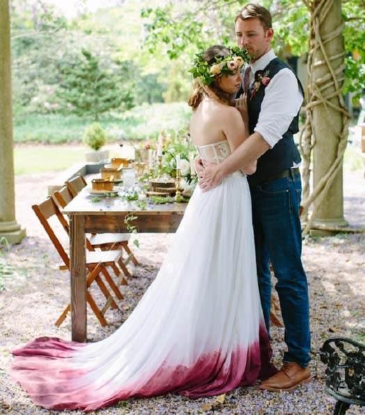 платья невесты от мужа