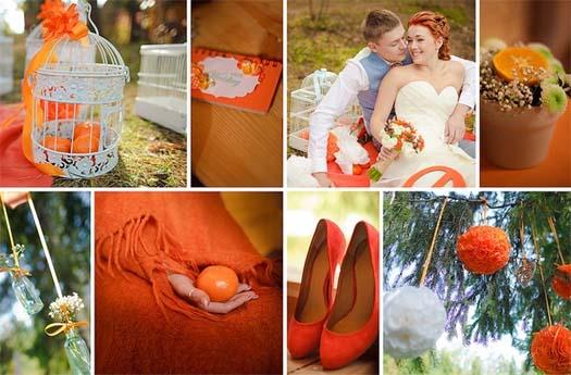 свадьба с апельсинами