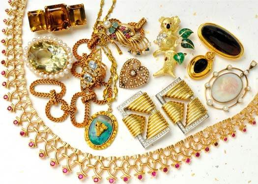 коллекция бижутерии