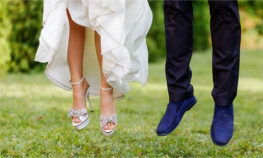 свадебная обувь молодят